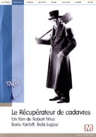 The Body Snatcher - French DVD cover (xs thumbnail)