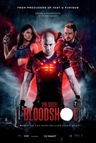 Bloodshot - Dutch Movie Poster (xs thumbnail)
