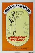 Monsieur Verdoux - Re-release poster (xs thumbnail)