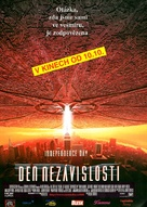Independence Day - Czech Movie Poster (xs thumbnail)