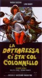 La dottoressa ci sta col colonnello - Italian Movie Poster (xs thumbnail)