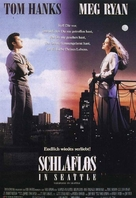 Sleepless In Seattle - German Movie Poster (xs thumbnail)