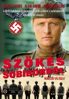 Escape From Sobibor - Hungarian VHS movie cover (xs thumbnail)