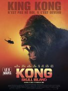 Kong: Skull Island - French Movie Poster (xs thumbnail)