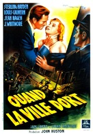 The Asphalt Jungle - French Movie Poster (xs thumbnail)