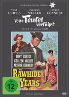 The Rawhide Years - German DVD cover (xs thumbnail)