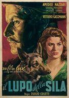 Lupo della Sila, Il - Italian Movie Poster (xs thumbnail)