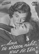 Rebel Without a Cause - German poster (xs thumbnail)