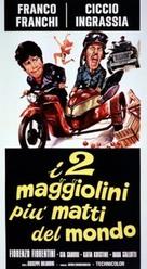 I due maggiolini più matti del mondo - Italian Movie Poster (xs thumbnail)