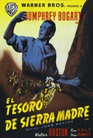 The Treasure of the Sierra Madre - Spanish Movie Poster (xs thumbnail)