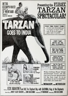 Tarzan Goes to India - poster (xs thumbnail)