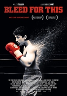 Bleed for This - German Movie Poster (xs thumbnail)