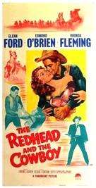 The Redhead and the Cowboy - Movie Poster (xs thumbnail)
