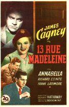 13 Rue Madeleine - Movie Poster (xs thumbnail)