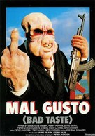 Bad Taste - Argentinian Movie Cover (xs thumbnail)
