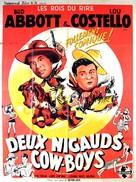 Ride 'Em Cowboy - French Movie Poster (xs thumbnail)