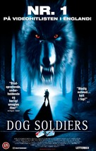 Dog Soldiers - Danish Movie Cover (xs thumbnail)