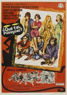 What's New, Pussycat - Spanish Movie Poster (xs thumbnail)
