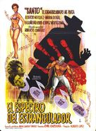 Santo vs el estrangulador - Spanish Movie Poster (xs thumbnail)