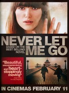 Never Let Me Go - British Movie Poster (xs thumbnail)