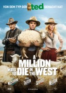 A Million Ways to Die in the West - German Movie Poster (xs thumbnail)