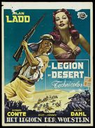 Desert Legion - Belgian Movie Poster (xs thumbnail)