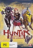 """Huntik: Secrets and Seekers"" - Australian DVD movie cover (xs thumbnail)"