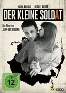 Le petit soldat - German DVD cover (xs thumbnail)