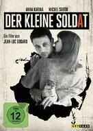 Le petit soldat - German DVD movie cover (xs thumbnail)