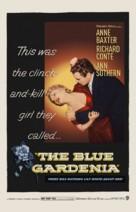 The Blue Gardenia - Movie Poster (xs thumbnail)