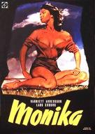 Sommaren med Monika - Swedish DVD movie cover (xs thumbnail)