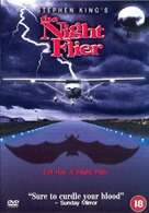 The Night Flier - British DVD cover (xs thumbnail)