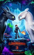 How to Train Your Dragon: The Hidden World - Turkish Movie Poster (xs thumbnail)