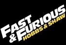 Fast & Furious Presents: Hobbs & Shaw - Logo (xs thumbnail)
