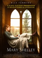 Mary Shelley - French Movie Poster (xs thumbnail)