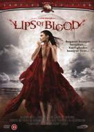 Lèvres de sang - Danish DVD cover (xs thumbnail)