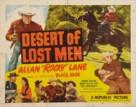 Desert of Lost Men - Movie Poster (xs thumbnail)