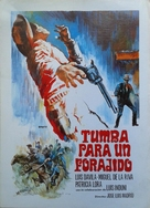 Tumba para un forajido - Spanish Movie Poster (xs thumbnail)