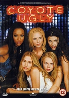 Coyote Ugly - British DVD movie cover (xs thumbnail)