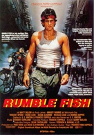 Rumble Fish - German Movie Poster (xs thumbnail)