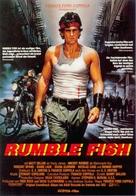 Rumble Fish - German Movie Poster (xs thumbnail)