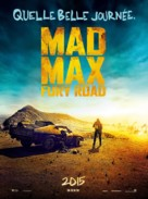 Mad Max: Fury Road - French Movie Poster (xs thumbnail)