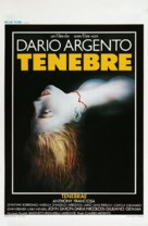Tenebre - Belgian Movie Poster (xs thumbnail)