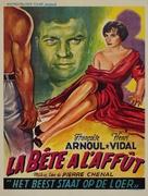 La bête à l'affût - Belgian Movie Poster (xs thumbnail)