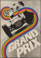 Grand Prix - Czech Movie Poster (xs thumbnail)