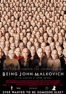Being John Malkovich - German Movie Poster (xs thumbnail)
