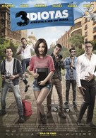 3 Idiotas - Mexican Movie Poster (xs thumbnail)
