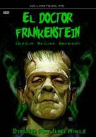 Frankenstein - Spanish DVD cover (xs thumbnail)