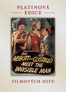 Abbott and Costello Meet the Invisible Man - Czech DVD movie cover (xs thumbnail)