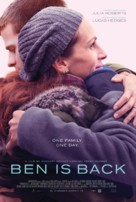 Ben Is Back - British Movie Poster (xs thumbnail)